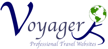 Voyager Professional Travel Websites logo